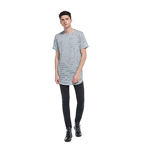 of Hole Round Europe Wind United and The Wear Shirt Loom Shirt A New Neck T The T Style Shirt Casual Half Men's Sleeve Sleeve Tee 2018 Short States Fruit 3D wqZ1IUOv