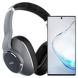 Samsung Galaxy Note 10+ Plus Factory Unlocked Cell Phone with 512GB (U.S. Warranty), Aura Black/ Note10+ w/AKG N700NC Headphones