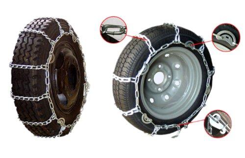 トラック用 カム付 タイヤチェーン 2209 7.00-14 195R14 195/R15 205/65R16 等 B006JU5IPC
