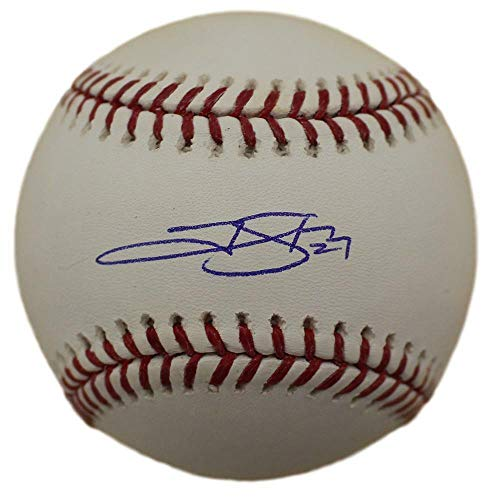 (Trevor Story Autographed/Signed Colorado Rockies OML Baseball JSA)