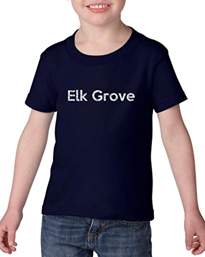 Ugo Elk Grove CA California Map Flag Home of University of Los Angeles UCLA USC CSLA Heavy Cotton Toddler Kids T-Shirt - Los Grove The Angeles Stores