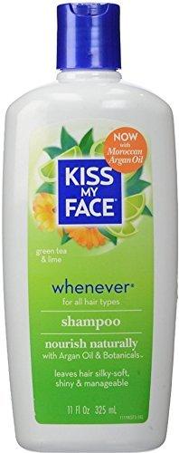 Kiss My Face Whenever Shampoo, Green Tea & Lime 11 oz by Kiss My Face