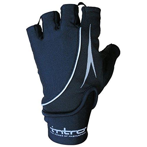 グループ冒険者ふくろうINTRO(イントロ) Stealth2 Half finger グローブ black XL