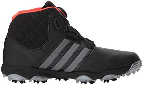 adidas Men's Climaheat Boa-M, Core Black/Iron Metallic/Bold Orange ...