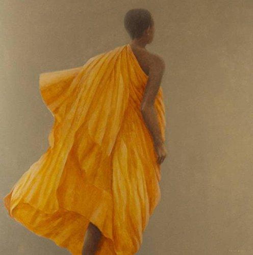 Imagekind Wall Art Print entitled Young Monk Sri Lanka, 2010 by The Fine Art Masters   11 x 11]()