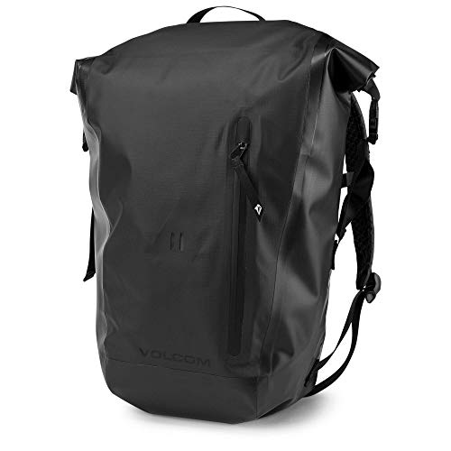 Backpack Embroidered Volcom - Volcom Men's Mod Tech Keep Dry Cooler Backpack, black, One Size Fits All