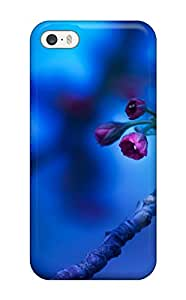 Excellent Iphone 5/5s Case Tpu Cover Back Skin Protector Blossom