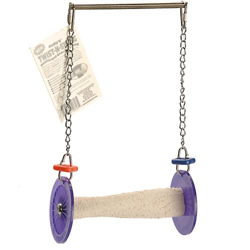 Polly's Twist-N-Swing for Pet Birds, Small -
