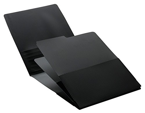 Smead Organized Up Poly Stack it Organizers, Letter Size, Black, 2 per Pack (87005) price