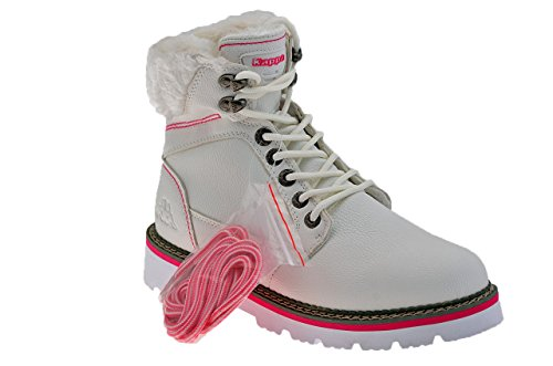 Ladies Valvins Boots White New Kappa Shoes Aa4t6qx6w