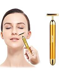 Beauty Bar 24k Golden Pulse Facial Massager, inkint...
