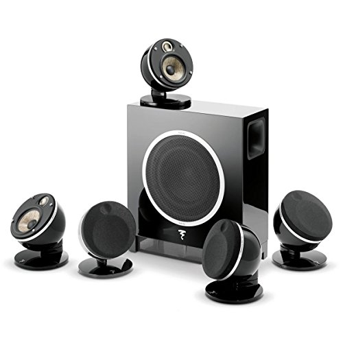 Focal Dome 5.1-Channel Speaker System With Sub Air (Black) by Focal