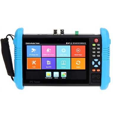 CCTV Tester Profesional multifunción Hyundai Touch 7 LCD 5 in1 AHD y HDCVI y TVI y CVBS/IP - Test POE/Ping/Wifi: Amazon.es: Bricolaje y herramientas