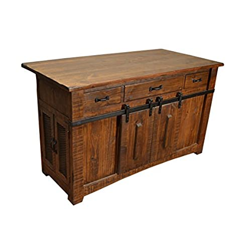 9 Standout Kitchen Islands: Rustic Kitchen Island: Amazon.com