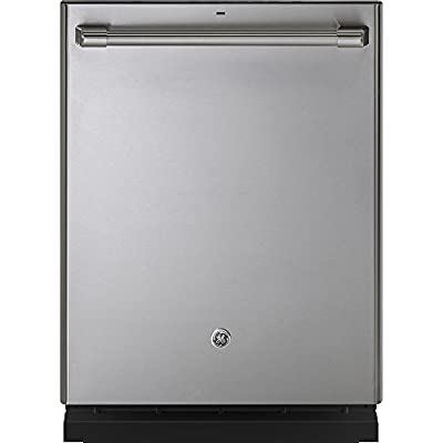 """GE Cafe Series 24"""" Stainless Steel Built-In Dishwasher"""