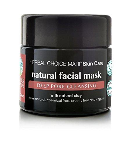 Cheap Herbal Choice Mari Natural Facial Mask; 3.4floz UV Glass