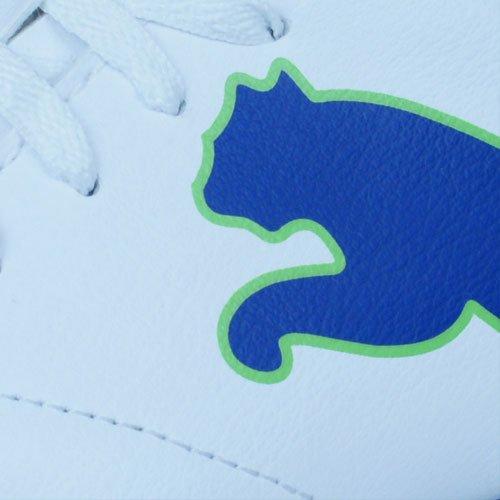 Puma Velize FG JR Niños botas de fútbol White