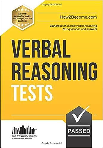 Verbal Reasoning Tests: 1 (Testing Series): Amazon co uk
