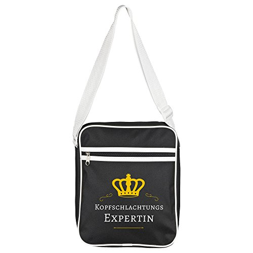 Bag Shoulder Expert Head Black Retro Schlachtungs n5IqSwdIx