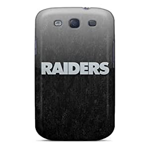 Hot Oakland Raiders First Grade Tpu Phone Case For Galaxy S3 Case Cover