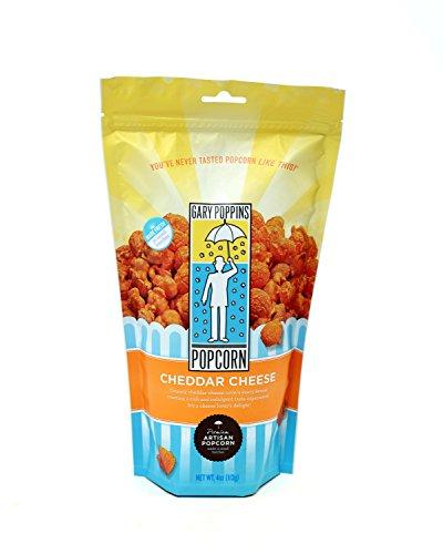 Gary Poppins Cheddar Cheese Popcorn, Bag, 4oz