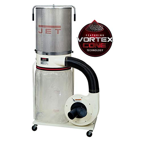 Jet DC-1100VX-CK Dust Collector 1.5HP 1PH 115/230-Volt 2-Micron Canister Kit ()