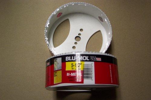 5-1/2'' Bi-metal Hole Saw Blu-mol. Made in the USA