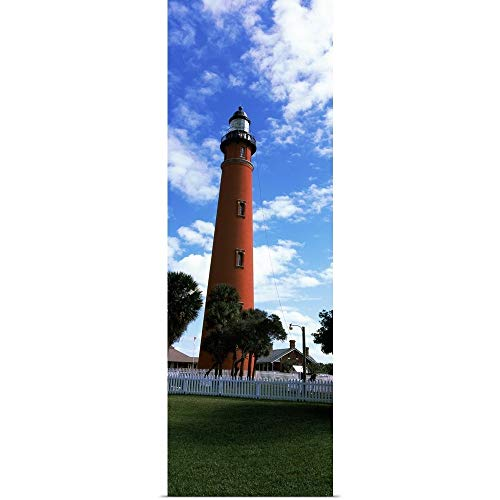GREATBIGCANVAS Poster Print Entitled Ponce De Leon Inlet Lighthouse, Ponce Inlet, Volusia County, Florida by 12
