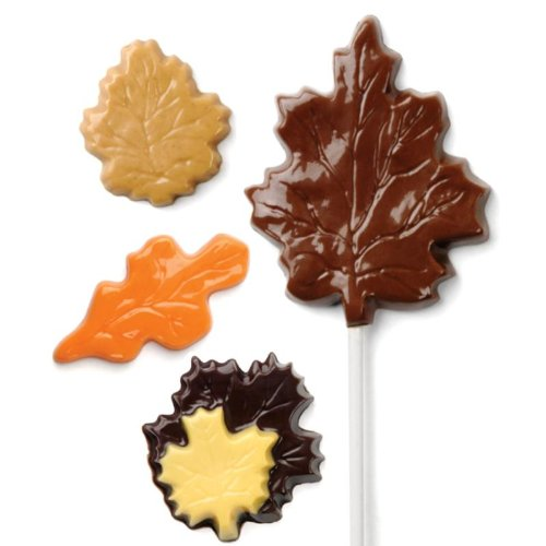 Make N' Mold 1026 Dress My Cupcake Fall Leaf Mix Candy Mold ()