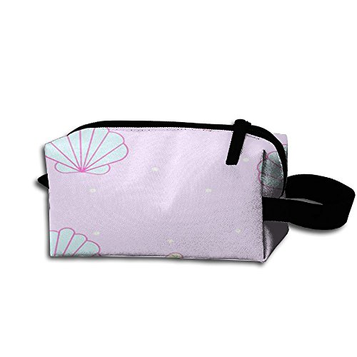 Scallop Conch Cosmetic Makeup Bag Cosmetic Bag Womens Travel Bag Large Capacity For Women