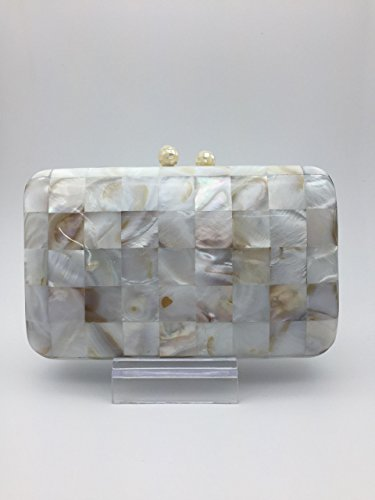 Clutch Handbag Mother of Pearl by RecasArtizan