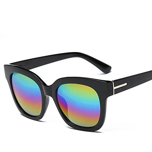 Aoligei Soleil lunettes lunettes de soleil Camouflage fleurs couleur lunettes de soleil mode film GfLgWZ