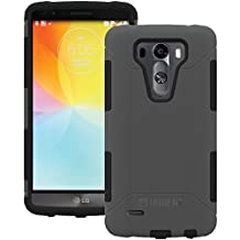 AFCTRIDENT Aegis Series Case for LG G3 - Retail Packaging - Grey
