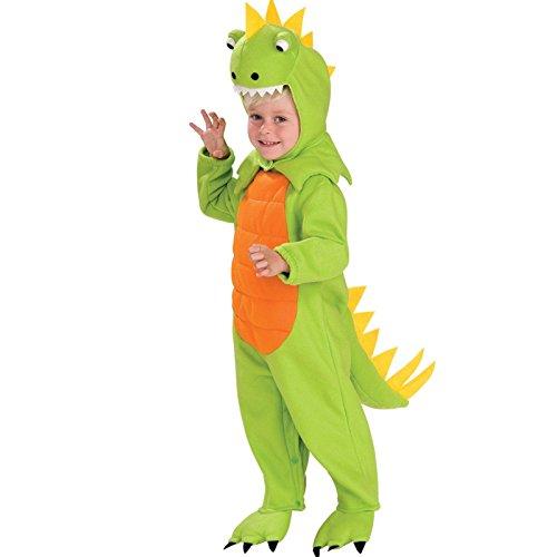 Rubies Talking Plush Dinosaur Child Costume, (Dinosaur Toddler Halloween Costumes)