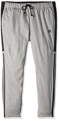 adidas Men's Athletics Sport Id Cotton Pants, Medium Grey Heather, Medium