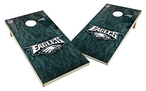 PROLINE NFL Philadelphia Eagles 2x4 Cornhole Board Set - Wild Design