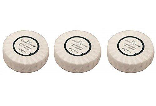 3-hermes-eau-dorange-verte-travel-sized-bath-soaps-individually-wrapped-85-oz-3-x-17-oz