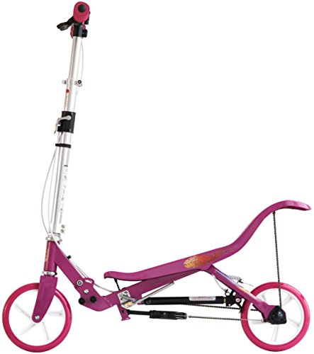 SpaceScooter (X580) - Patinete para Niñas (Universal, Asfalto, Rosa, Poliuretano): Amazon.es: Deportes y aire libre
