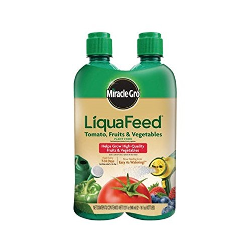 Miracle Gro 1004402 16 Oz LiquaFeed® Tomato Fruit & Vegetable Plant Food 2 Count