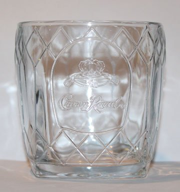 Crown Royal Crystal Promotional Tumbler (Crown Royal Drink)