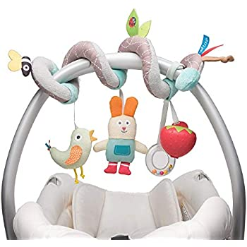 Baby Plush Toy Car Hanging Color Kids Yellow Head Haha Mirror Small Fish LT