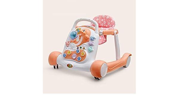 LFY Andador para bebés con música, chasis ampliado en Forma de U ...