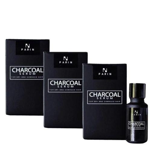 3X Charcoal bamboo hair serum for damaged hair- Detox Hair,Reduce Hair Loss, Dry & Damage Hair by Charcoal Serum