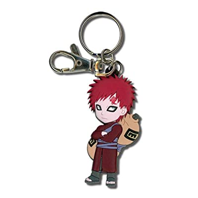 Great Eastern Entertainment Naruto Shippuden SD Gaara PVC Keychain: Toys & Games
