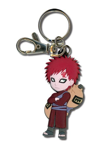 Great Eastern Entertainment Naruto Shippuden SD Gaara PVC Keychain