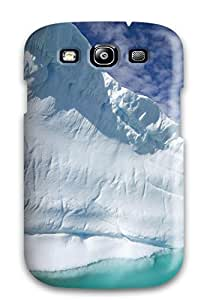 Galaxy S3 Well-designed Hard Case Cover Earth Ice Protector
