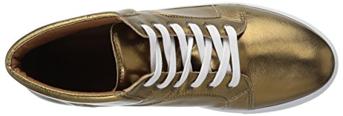 Pictures of Vince Camuto Boys' GRADIE2 Sneaker Gold 3 Gold 3 M US Little Kid 2