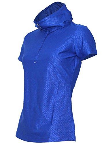 (ナイキ ゴルフ) NIKE GOLF レディース トップス DRI-FIT ボリュームネック ハーフジップ 半袖 シャツ 427129