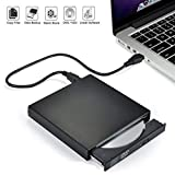 Lychee External PC USB 2.0 DVD CDR Writer Recorder Reader Player Slim Combo