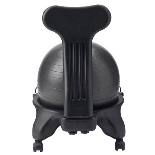 Gaiam Balance Ball Chair, Black New